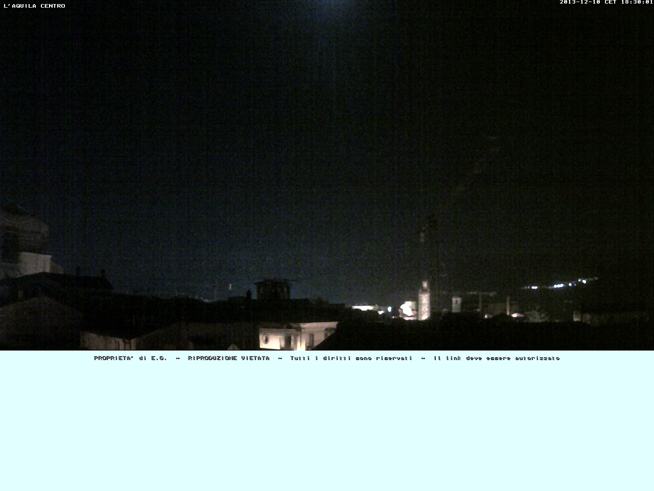 Webcam L'Aquila Centro&nbsp;Live webcamera